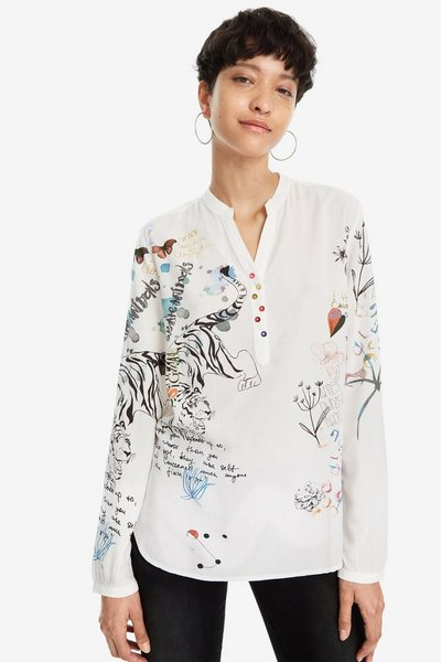 Women's shirts and blouses | Desigual.com