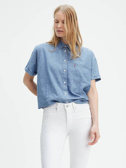 Women's Shirts, Denim Blouses, Tank Tops & T-Shirts | Levi's® US