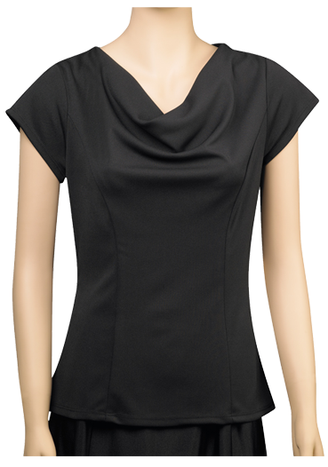 Priscilla Cowl Neck Blouse - DeMoulin