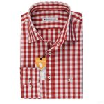 Shirt with Vichy Check