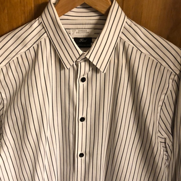Versace Collection Shirts | Trend Mens Dress Shirt Size 41 | Poshmark