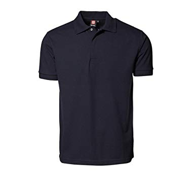 ID Mens Pro Wear Press Stud Short Sleeve Polo Shirt at Amazon Men's
