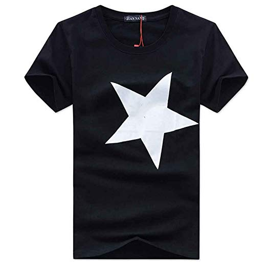 Amazon.com: Mens T Shirts Graphic Men Fashion Cotton Shirts Star