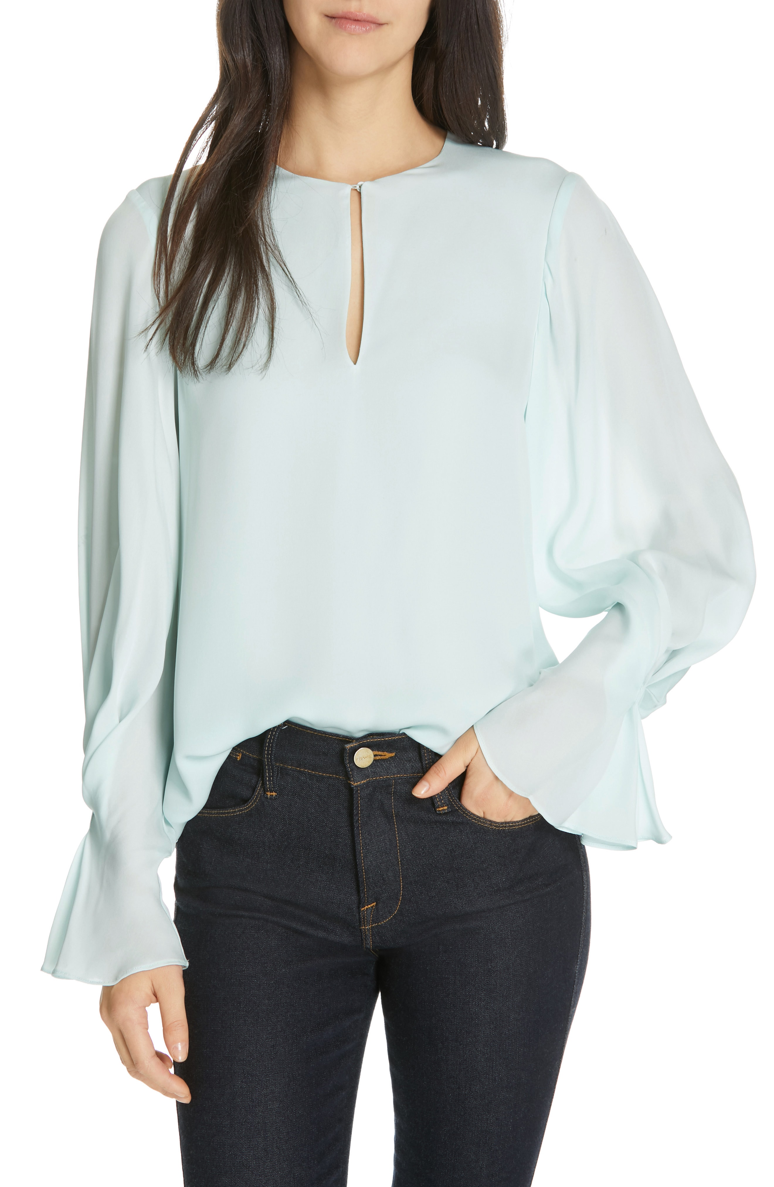 Women's Silk Tops | Nordstrom