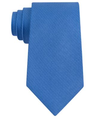 Club Room Men's Pebble Solid Silk Tie, Created for Macy's & Reviews