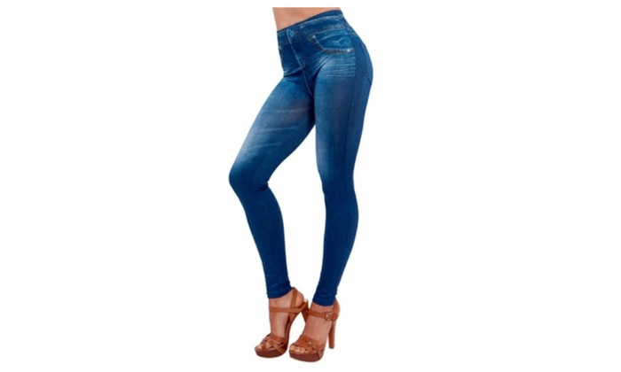 Genie Slim Jeggings 2x | Groupon