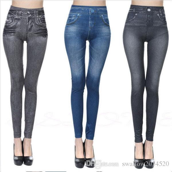 2019 Fitness Clothing For Women Jeggings Jeans For Women Seamless