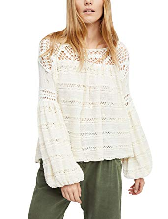 Free People Women's Someday Knit Sweater at Amazon Women's Clothing