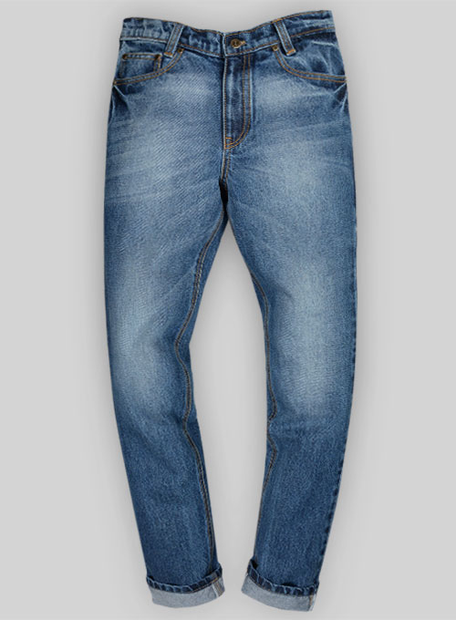 Bull Heavy Denim Jeans - Stone Wash : MakeYourOwnJeans®: Made To