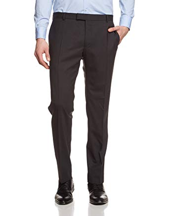 Strellson Men's Trousers, Opaque Grey: Amazon.co.uk: Clothing