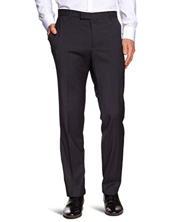 Strellson Premium Men's Suit Trousers, Grau (113), 36 Regular