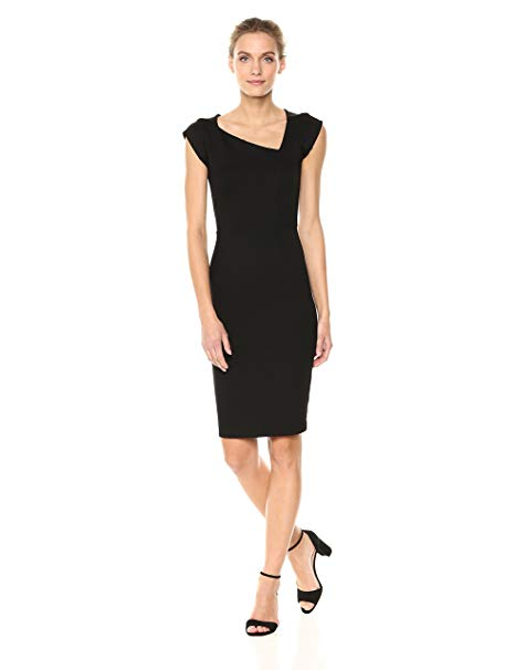 Amazon.com: French Connection Women's Lula Stretch Dress: Clothing