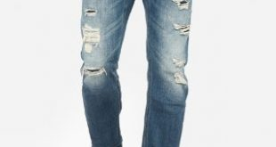 Slim Straight Dark Wash Stretch Jeans | Express