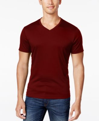 Alfani Men's Soft Touch Stretch T-Shirt, Created for Macy's - T