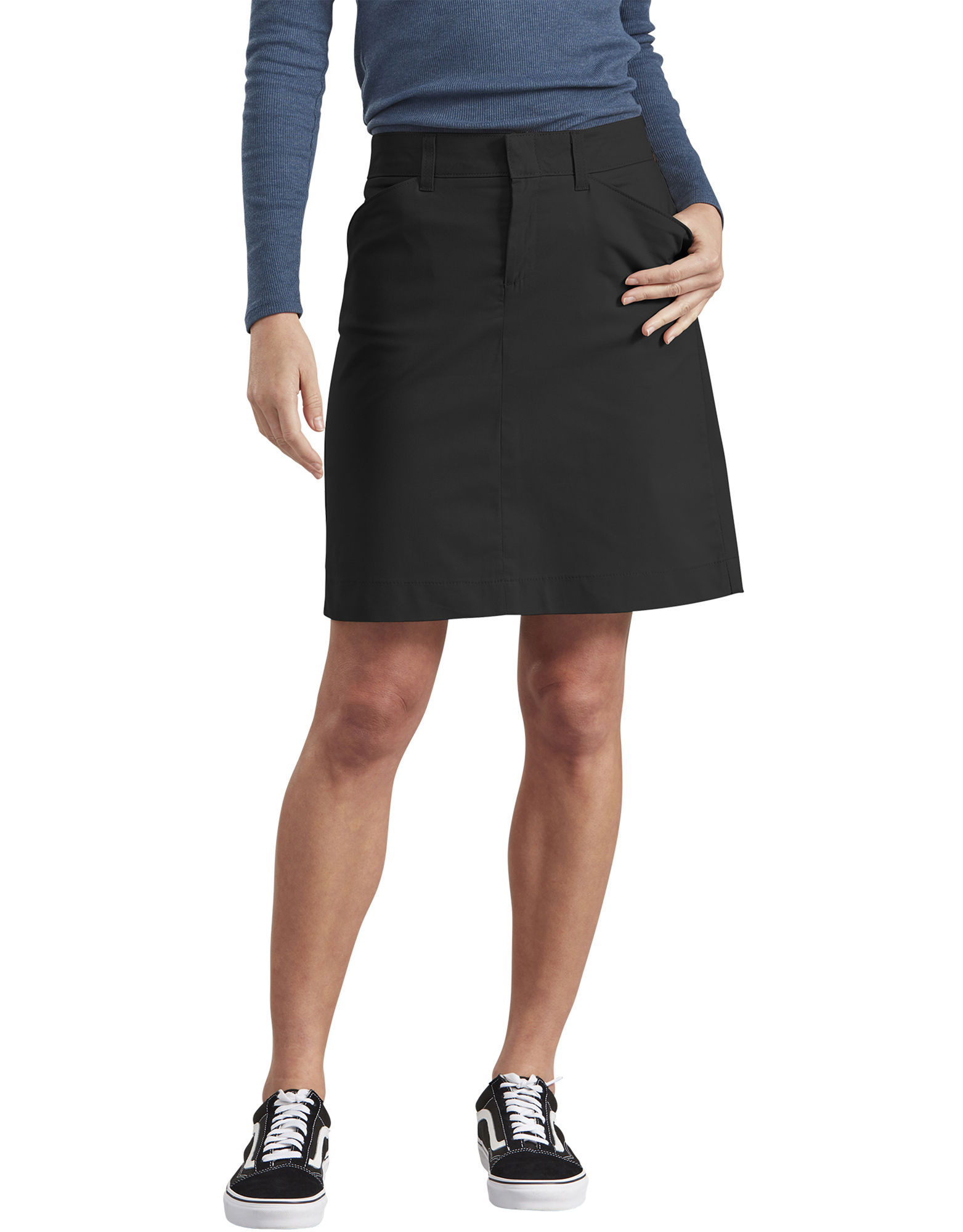 Women's Stretch Twill Skirt | Womens Shorts | Dickies