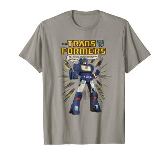 Amazon.com: Transformers Soundwave Comic Strip T-Shirt: Clothing