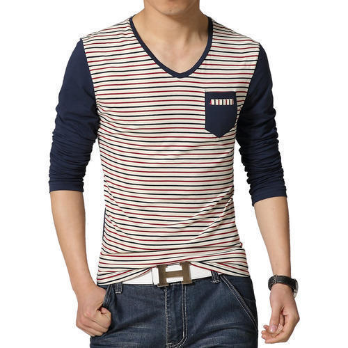 Men's Strip T-Shirt at Rs 150 /piece | Men Striped T-shirts | ID