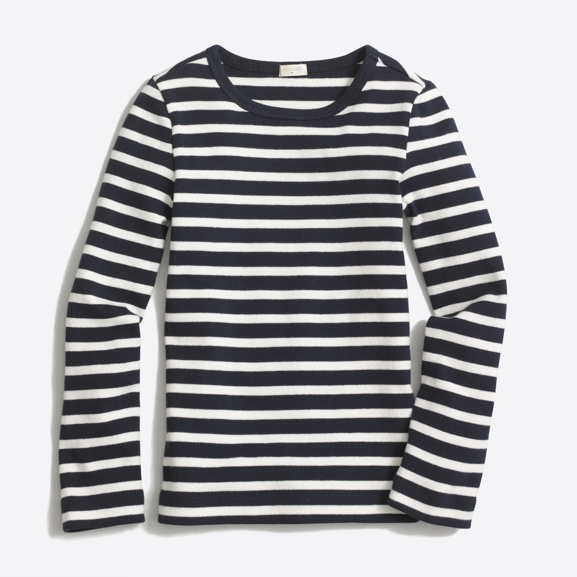 Girls' long-sleeve striped layering T-shirt : FactoryGirls t-shirts