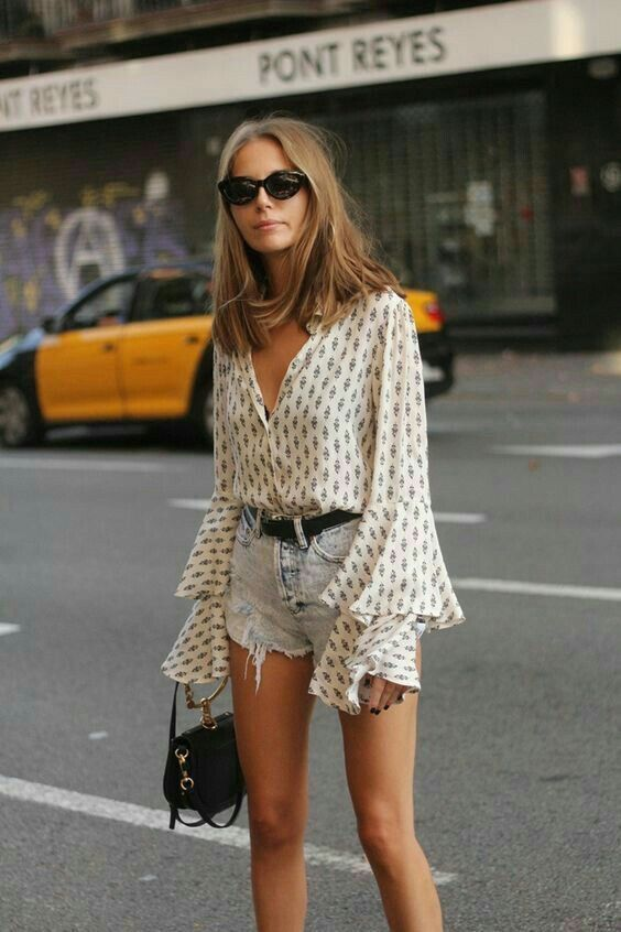 casual summer outfit street style | SPRING/ SUMMER STYLE | Pinterest