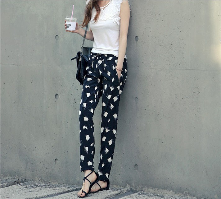 Beautiful summer pants for ladies