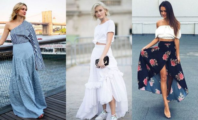 22 Long Summer Skirts Outfits You Should Try Now | GlossyU.com