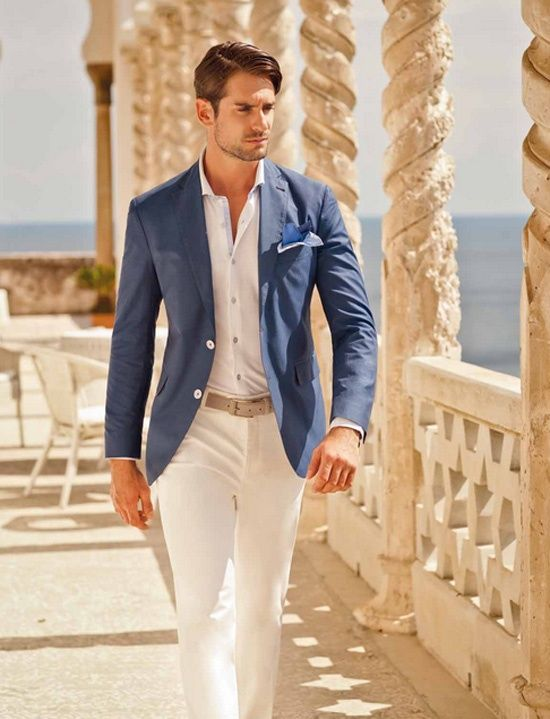 Tips for Men Summer Suits - Mens Suits Tips | Look book in 2019