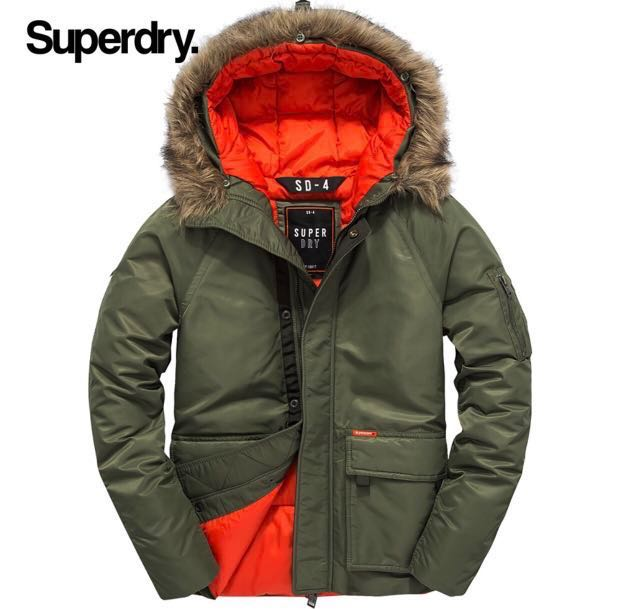 Superdry Winter Jacket, Women's Fashion, Clothes, Outerwear on Carousell