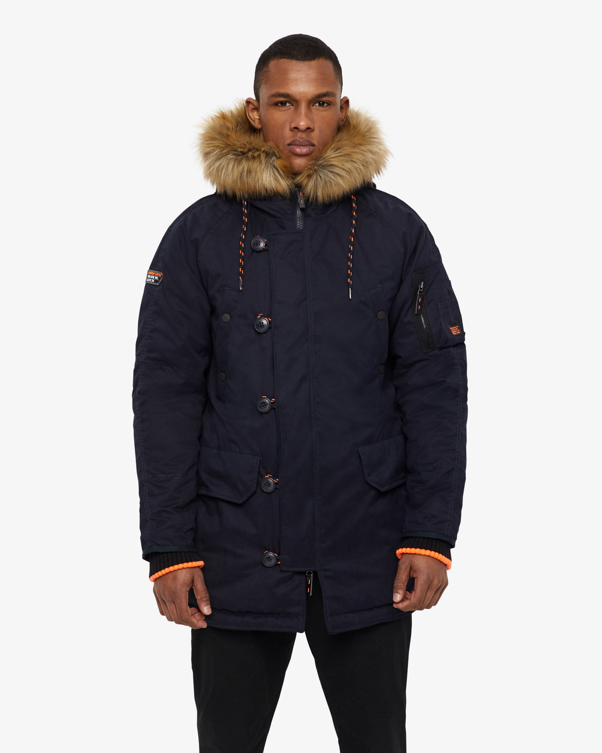 Superdry winterjacket - Dark navy