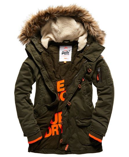 Superdry Rookie Heavy Weather Parka Jacket | M fAsHIOn | Pinterest