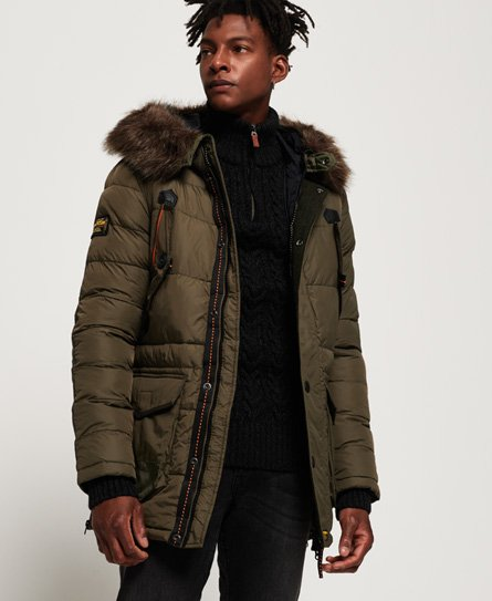Men's Parka Coats | Fur Hood, Waterproof & Military | Superdry