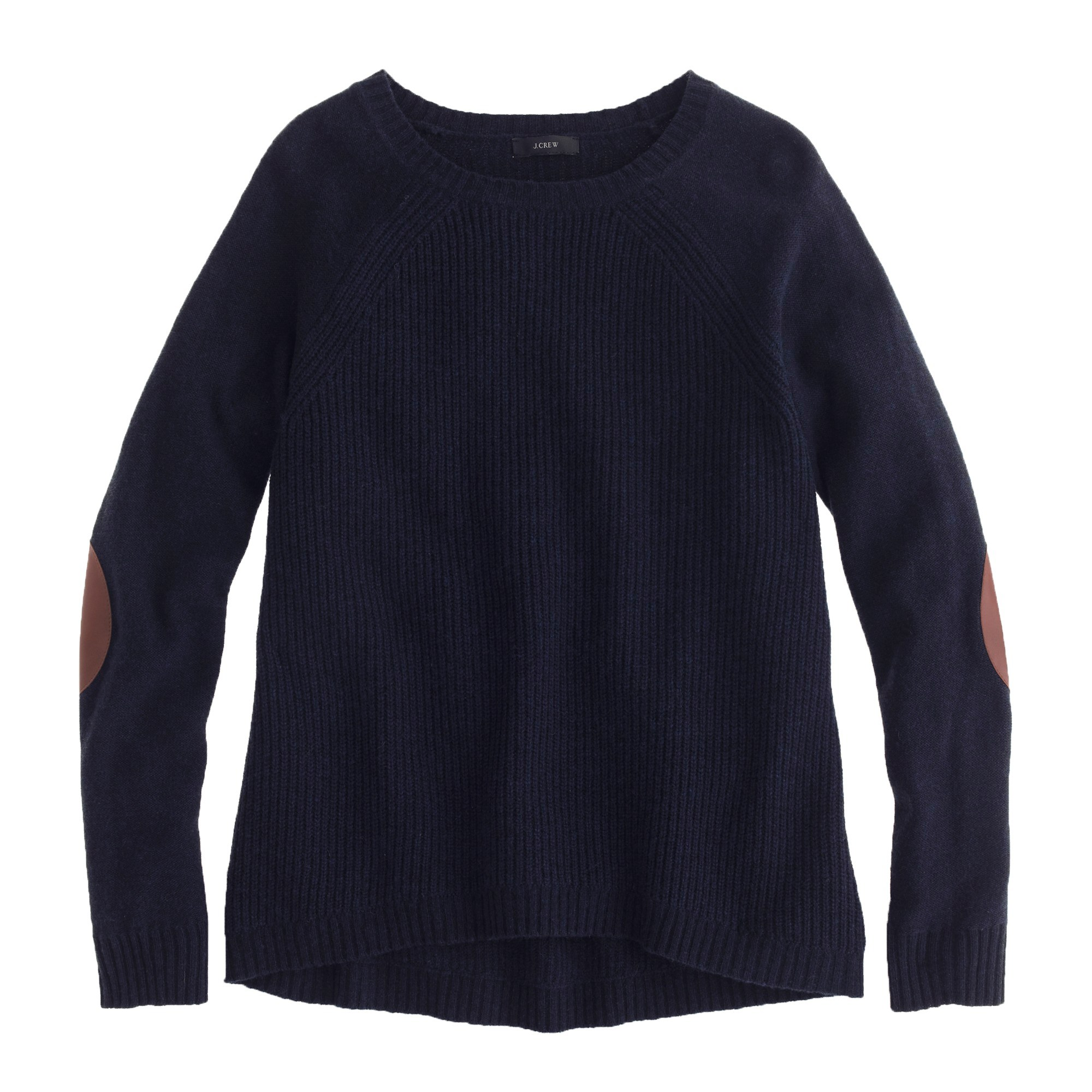 Elbow-patch sweater : Women pullovers | J.Crew