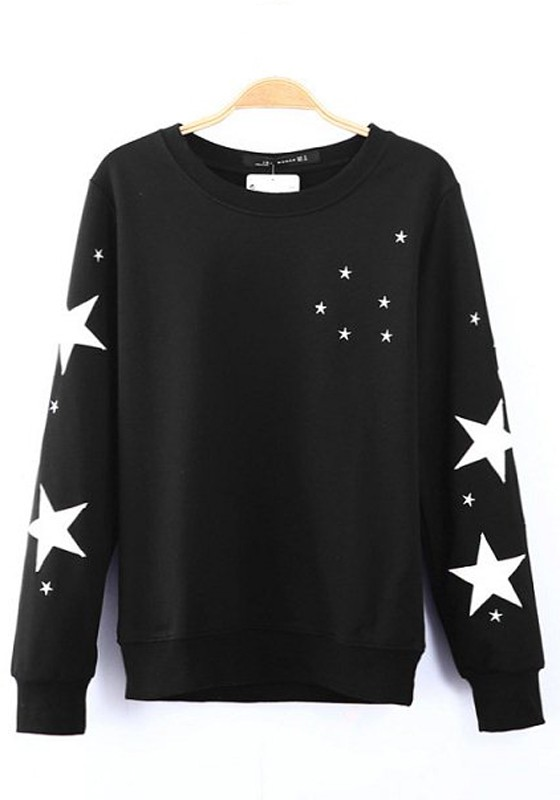 Sweatshirts with stars