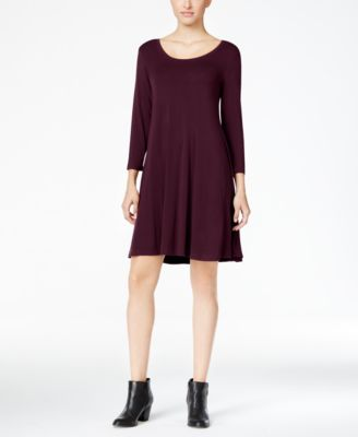 Style & Co Petite Swing Dress, Created for Macy's - Dresses