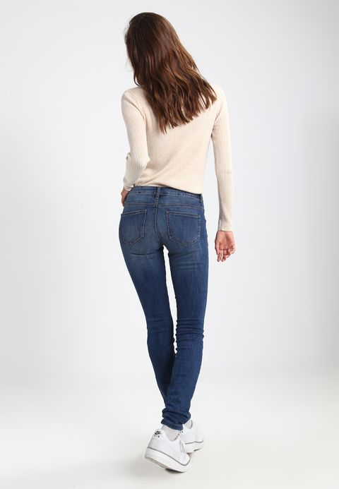 women TOM TAILOR ALEXA - Jeans Skinny Fit - dark stone wash