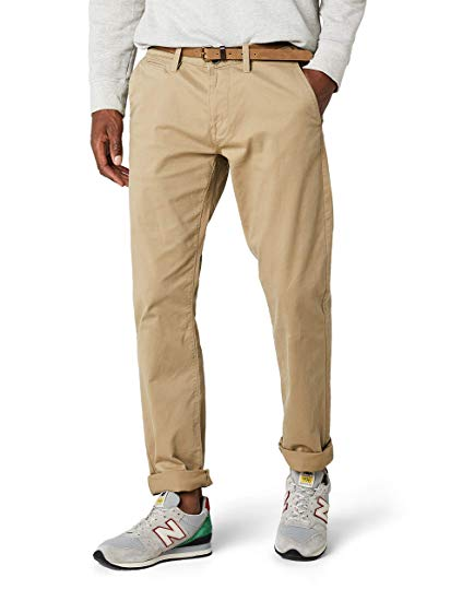 Tom Tailor Men's Solid Chino Nos Trouser Blue: Amazon.co.uk: Clothing