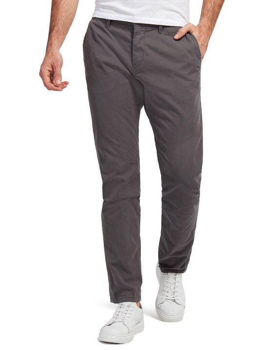 Trousers - Tom tailor men's solid travis slim fit chinos | Tom Tailor