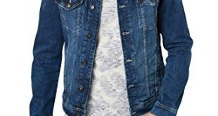 Tom Tailor Men's Cotton and Denim Jackets (Light Blue,XX-Large