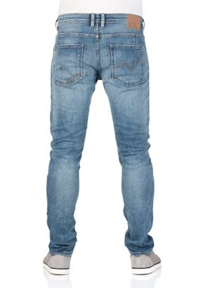TOM TAILOR DENIM MEN'S JEANS Piers - Super Slim Fit - Blue - Light