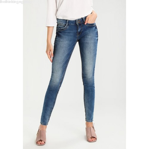 TOM TAILOR DENIM JONA - Jeans Skinny Fit - denim oYluiymB