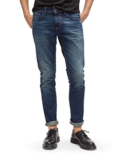 Tom Tailor Denim Mens 62030390912 Skinny Jeans - Blue - One Size