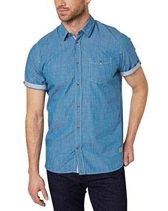 Tom Tailor Men's Casual Shirts: Amazon.in: Clothing & Accessories