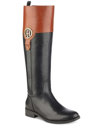 Tommy Hilfiger Ilia Riding Boots, Created for Macy's & Reviews