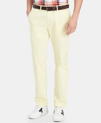 Tommy Hilfiger Men's TH Flex Stretch Custom-Fit Chino Pant, Created