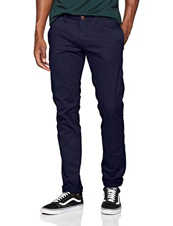 Tommy Hilfiger Men's Original Stretch Slim Fit Chino Pants at Amazon