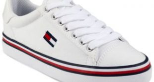 Tommy Hilfiger Women's Fressian Lace-Up Sneakers & Reviews