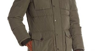 Tommy Hilfiger Men's Micro Twill Full-Length Hooded Parka Coat at