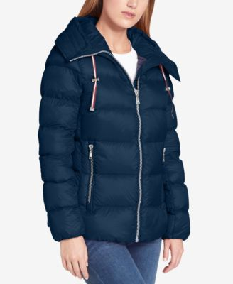 Tommy Hilfiger Hooded Packable Down Coat, Created for Macy's - Coats