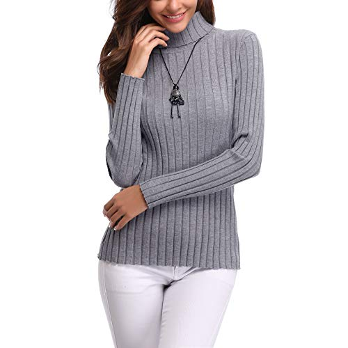 Women's Turtleneck Sweater: Amazon.com