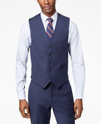 Tommy Hilfiger Men's Modern-Fit TH Flex Stretch Suit Vest & Reviews