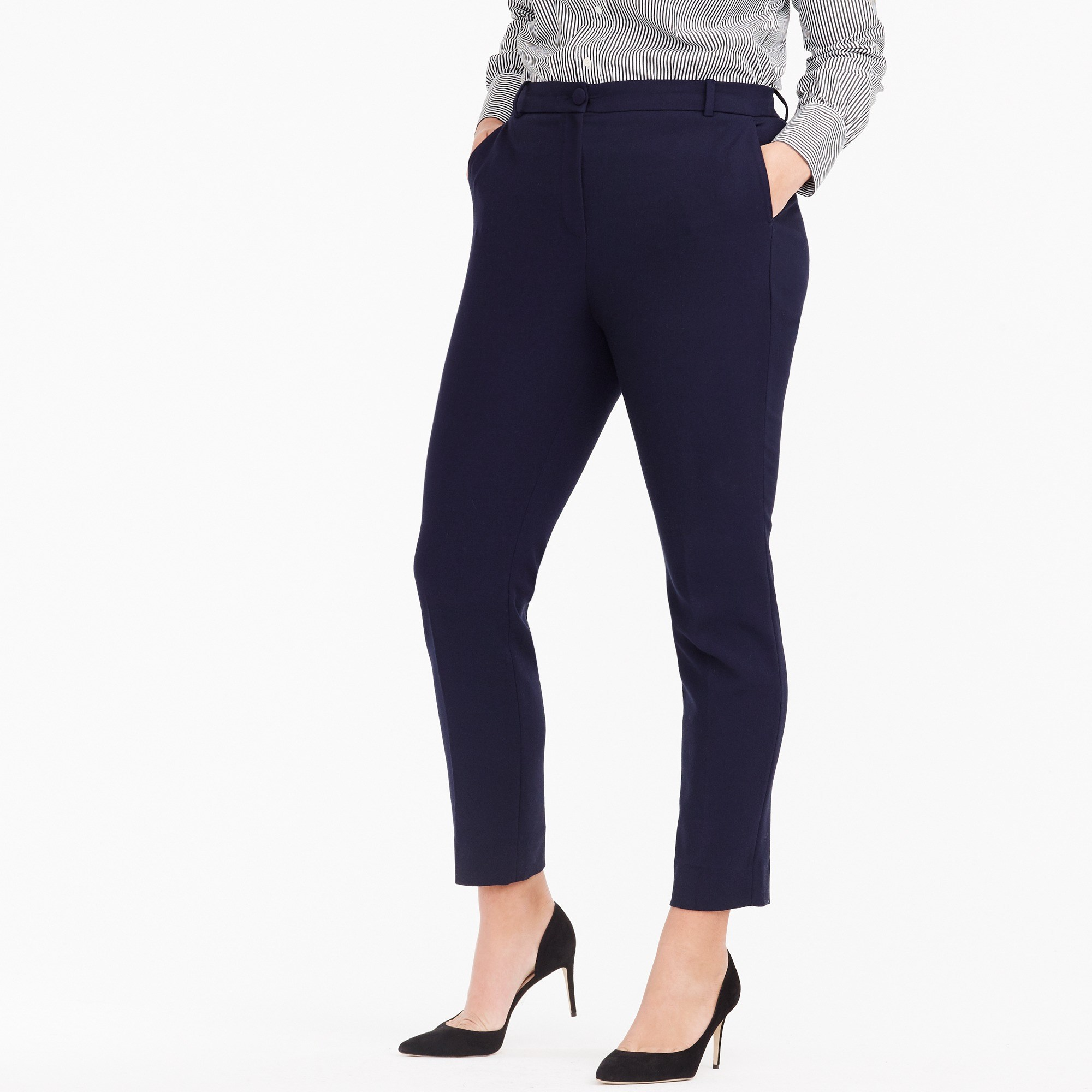 High-rise Cameron pant in four-season stretch - Women's Pants | J.Crew